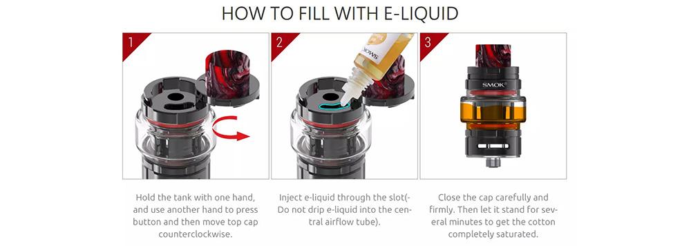 How To Fill Smok TF Tank