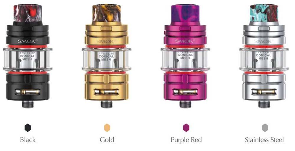 Smok TFV16 Lite Tank Colors Available