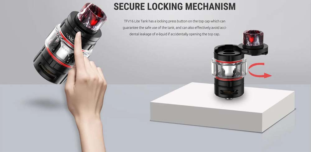 TFV16 Lite With Secure Locking Mechanism