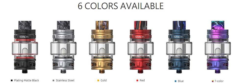 Smok TFV18 Colors Options