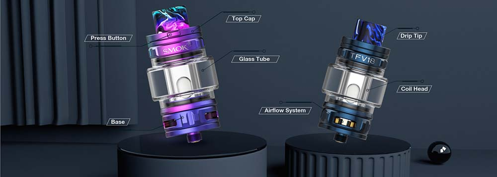 TFV18 Atomizer Structure