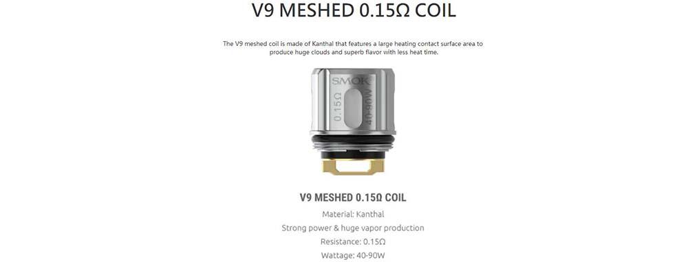 Smok V9 Mesh Coils