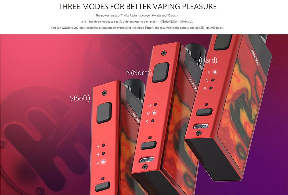 Smok Trinity Alpha 30W Starter Kit