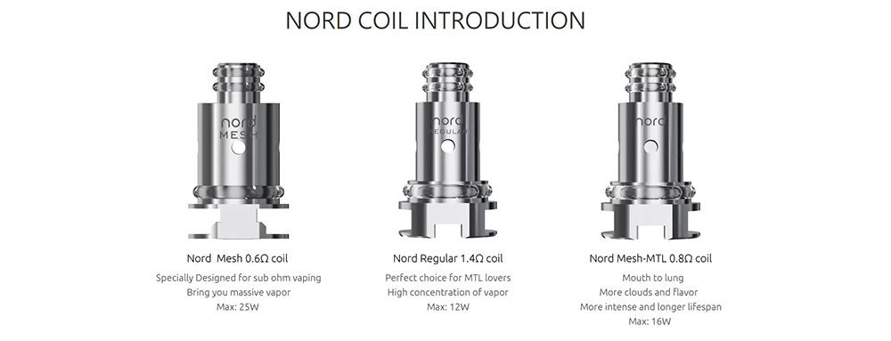 Smok Vape Pen Nord 19 Coils