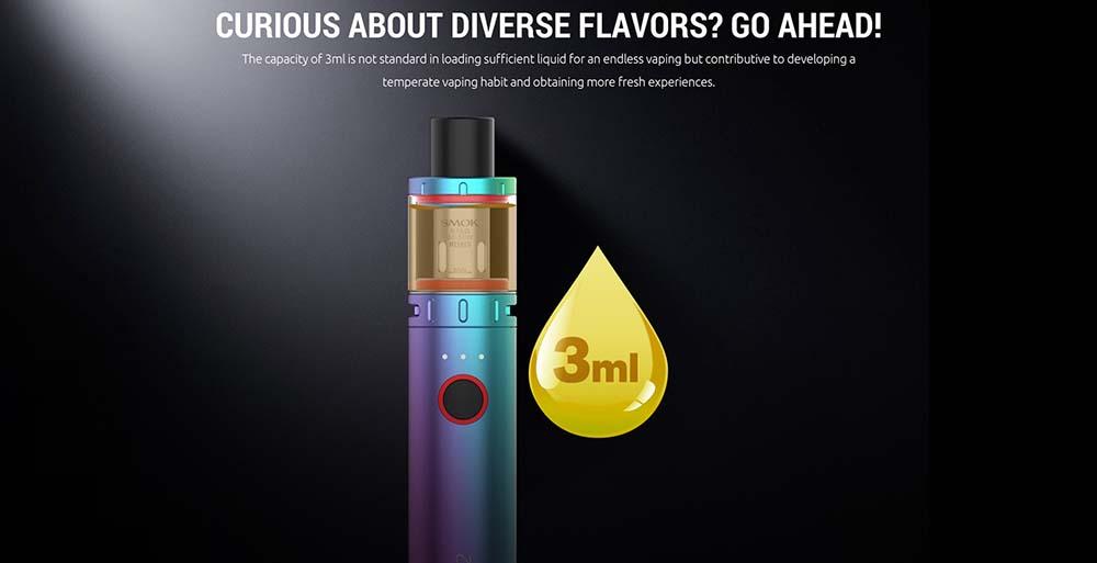 Smoktech Vape Pen V2 With 3ml Capacity