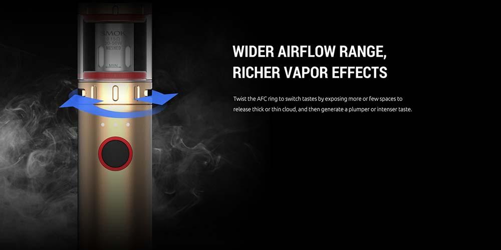 Vape Pen V2 With Wide Airflow Range