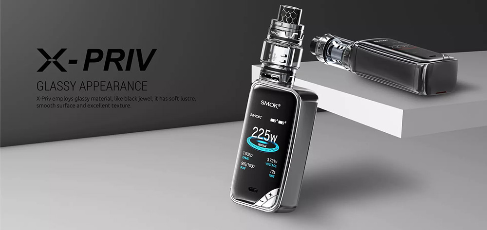 X-PRIV Kit WIth Glass Appearance