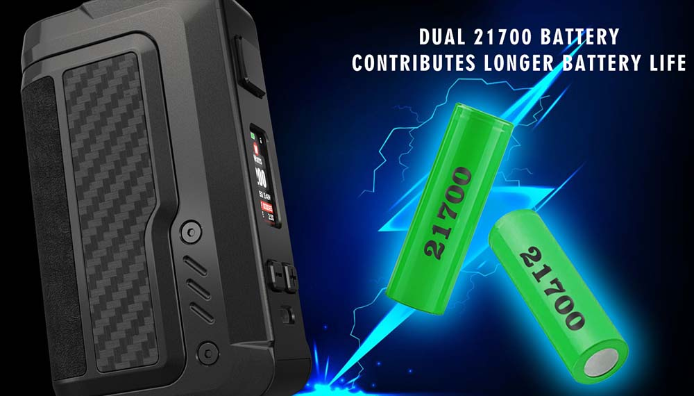 Gaur 21 Powered By Dual 21700 Batteries