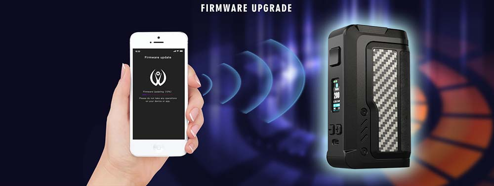 Vandy Vape Gaur 21 Firmware Upgradeable Via APP