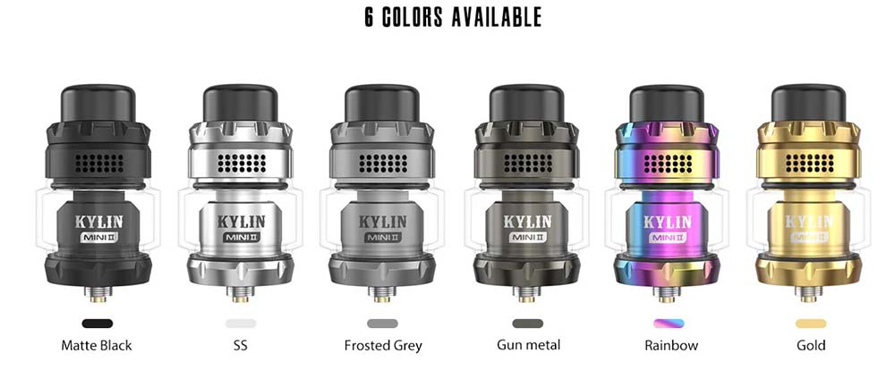 Vandy Vape Kylin Mini V2 RTA Colors Available