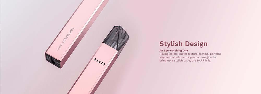 Vaporesso BARR Kit With Stylish Design