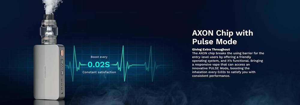 Vaporesso Gen X 220W Adopts AXON Chipset With Pulse Mode