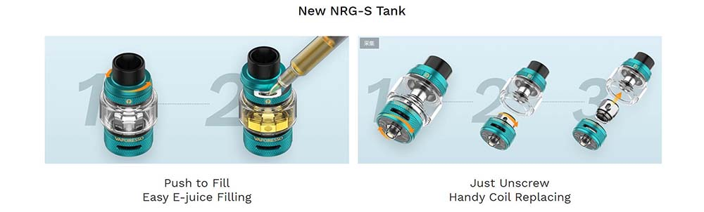 How To Fill NRG-S Tank