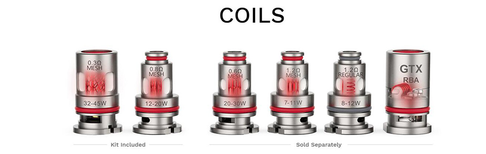Vaporesso XIRON Kit Compatible With GTX Series Coils