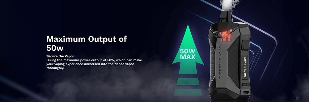 Vaporesso XIRON Kit Max Output Up To 50W