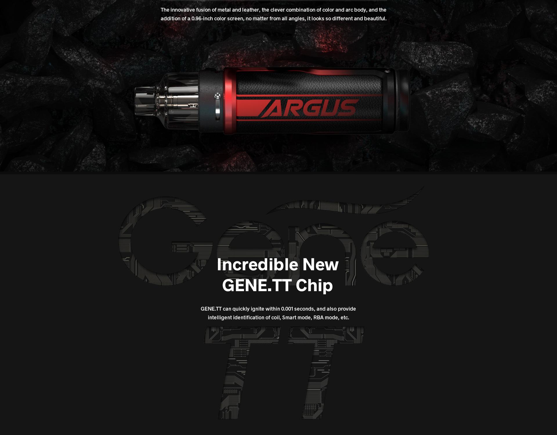 Argus Pro Adopts GENE.TT Chipset