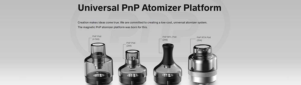 Drag Max Compatible With All PnP Atomizers