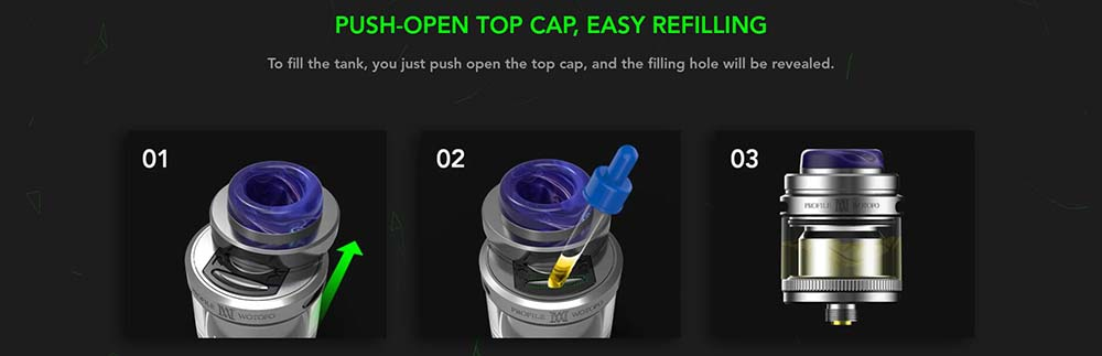 How To Fill The Wotofo Profile M