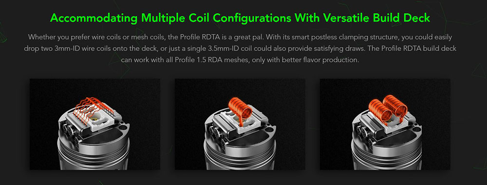 How To Build The Deck On Profile RDTA