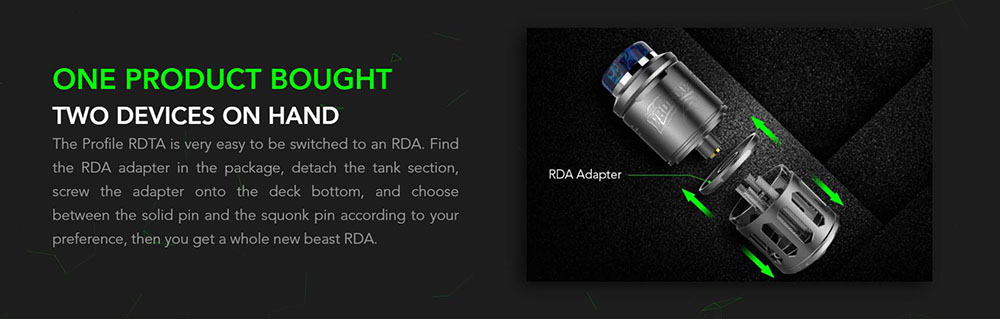 Profile RDTA Easy To Switch To An RDA