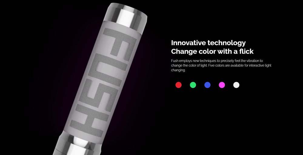 Acrohm Fush Mech Mod With Change LED Light