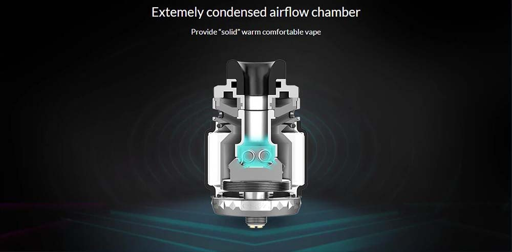 OXVA Arbiterr Dual Coil RTA With Extremely Condensed Airflow Chamber