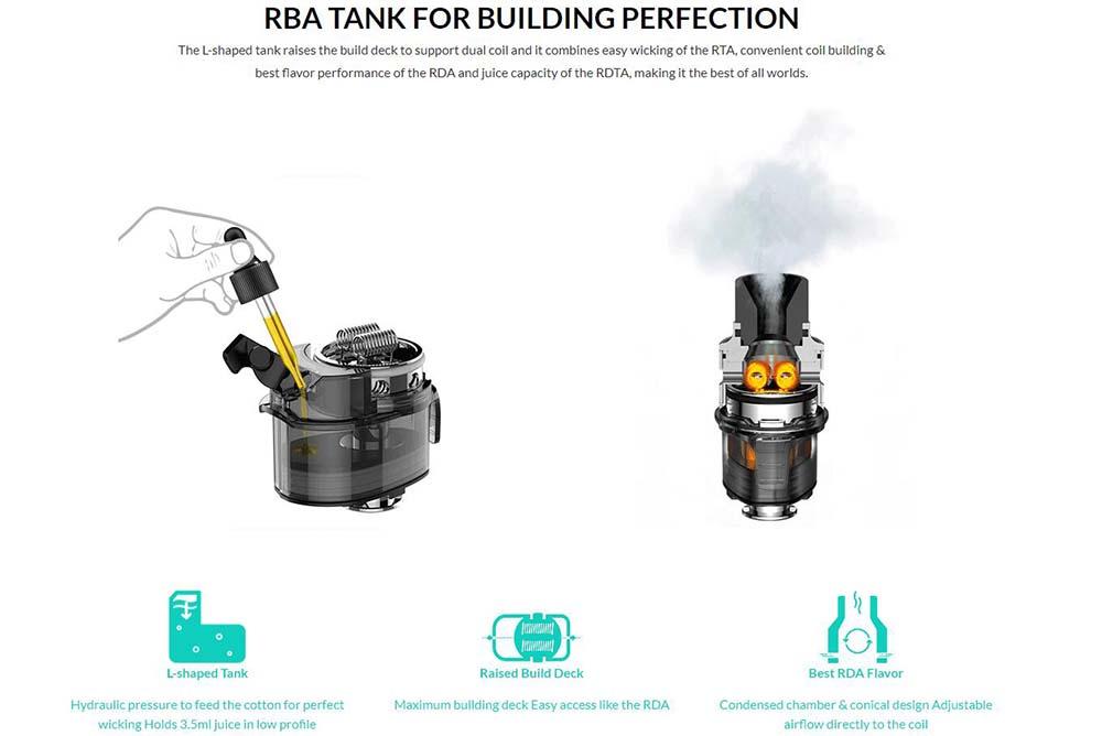 How To Fill Origin X RBA Tank