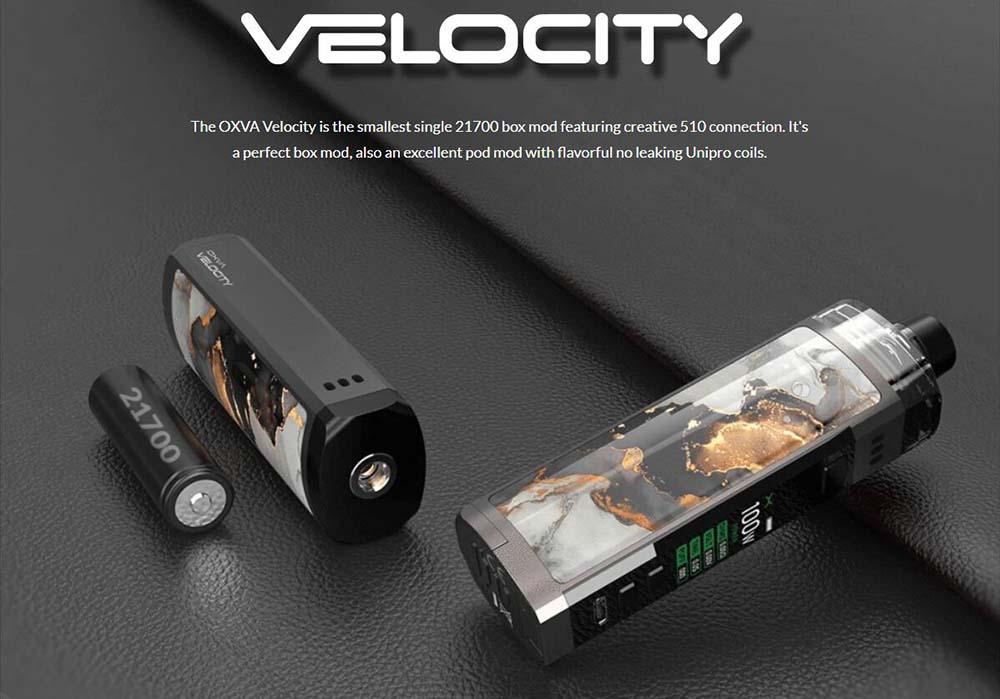 OXVA Velocity 21700 Pod Kit WIth Creative 510 Connector