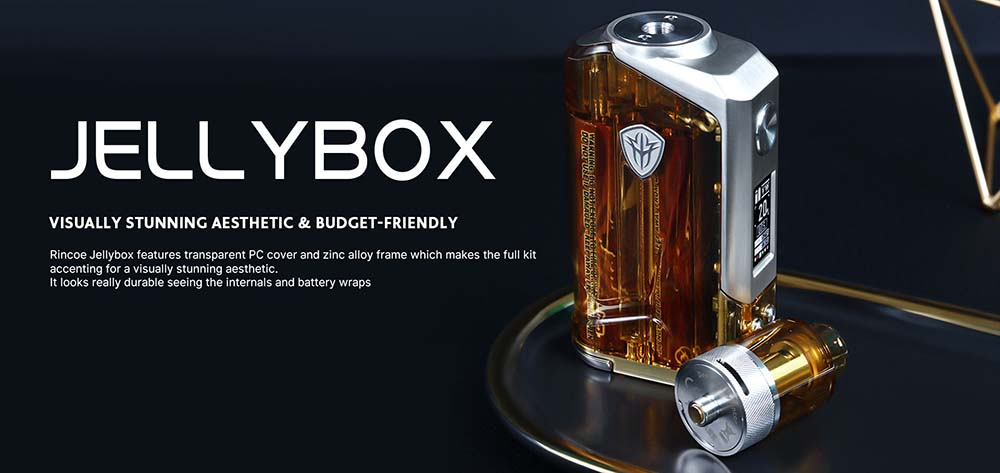 Rincoe JellyBox 228W Kit With Transparent PC Cover
