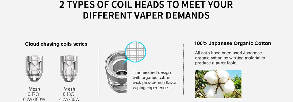 Smoant Naboo Coils