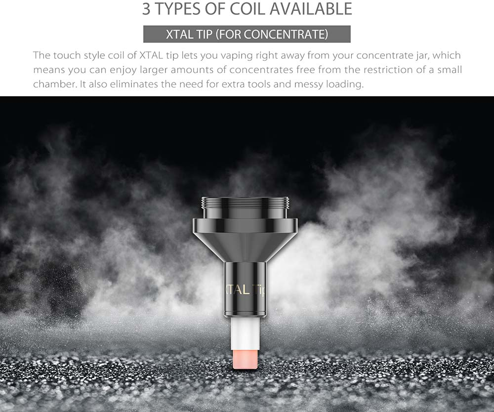 Yocan Falcon 6 In 1 3 Types Of Coils Available