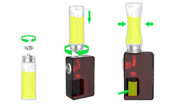 how to use vandy vape refill squonk bottles